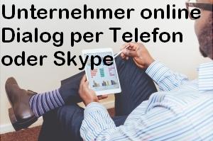 Unternehmer online Dialog